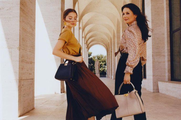 Кетрін Зета-Джонс з донькою_3