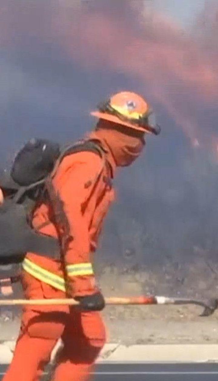 Пожары в Калифорнии стихнут, вероятно, лишь в конце недели - метеорологическая служба