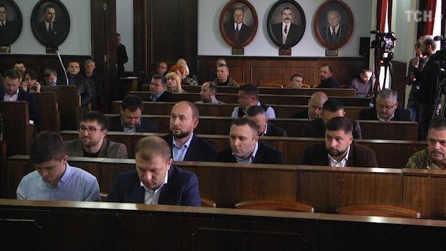 Засідання Чернівецької міськради