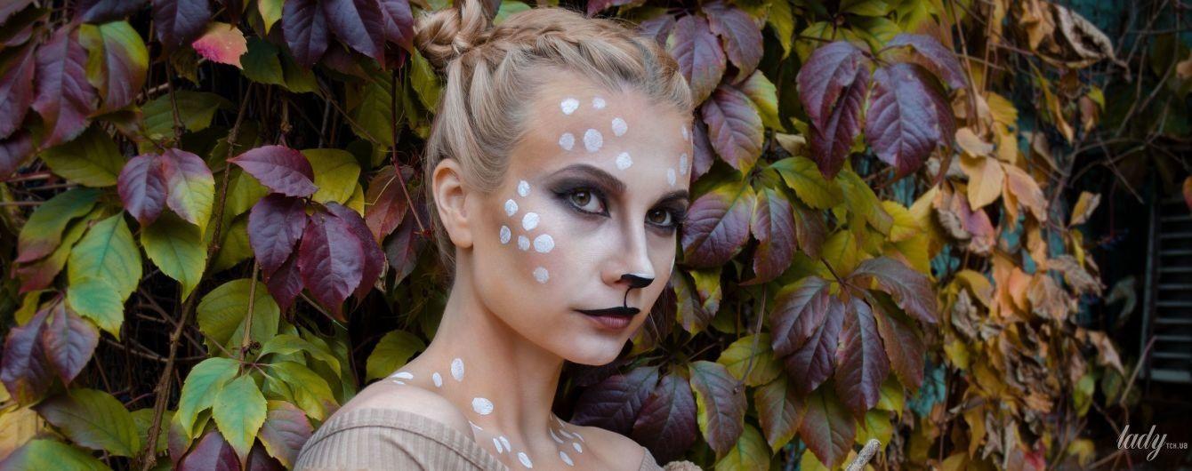Оленя Бембі, фешнскелет і Джокер: яскраві ідеї макіяжу на Геловін-вечірку