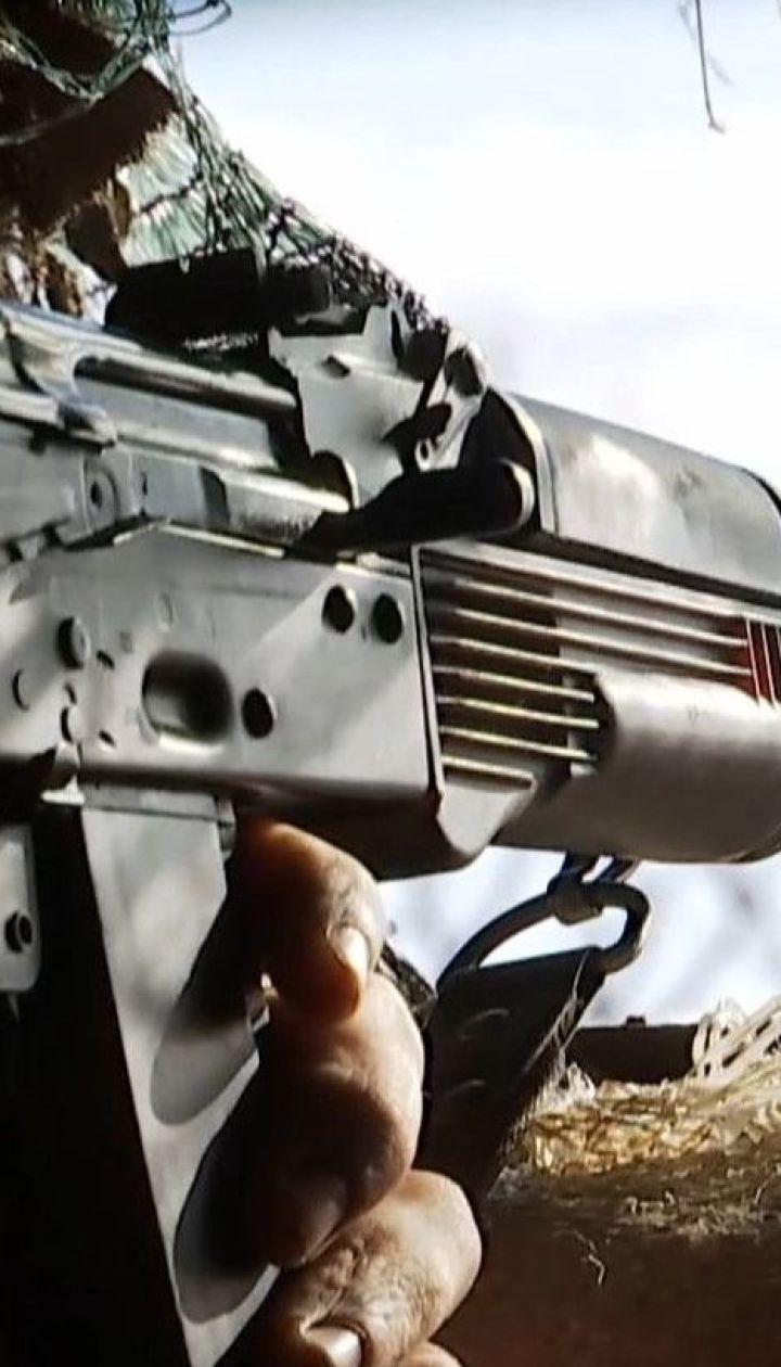 Боевики на Донбассе стреляют из различного оружия, даже несмотря на присутствие ОБСЕ