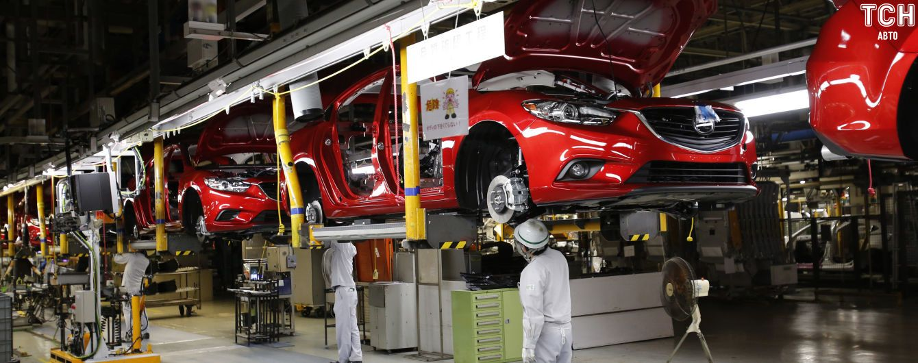 У Mazda катастрофічно впали продажі