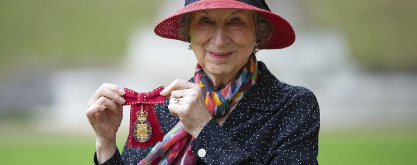 Лауреатка Букерівської премії письменниця Маргарет Етвуд отримала орден кавалерів пошани