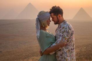 Кеті Перрі відсвяткувала 35-річчя з коханим у Єгипті