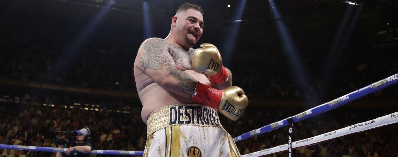 Боксер-чемпіон Руїс продовжує худнути до бою-реваншу з Джошуа