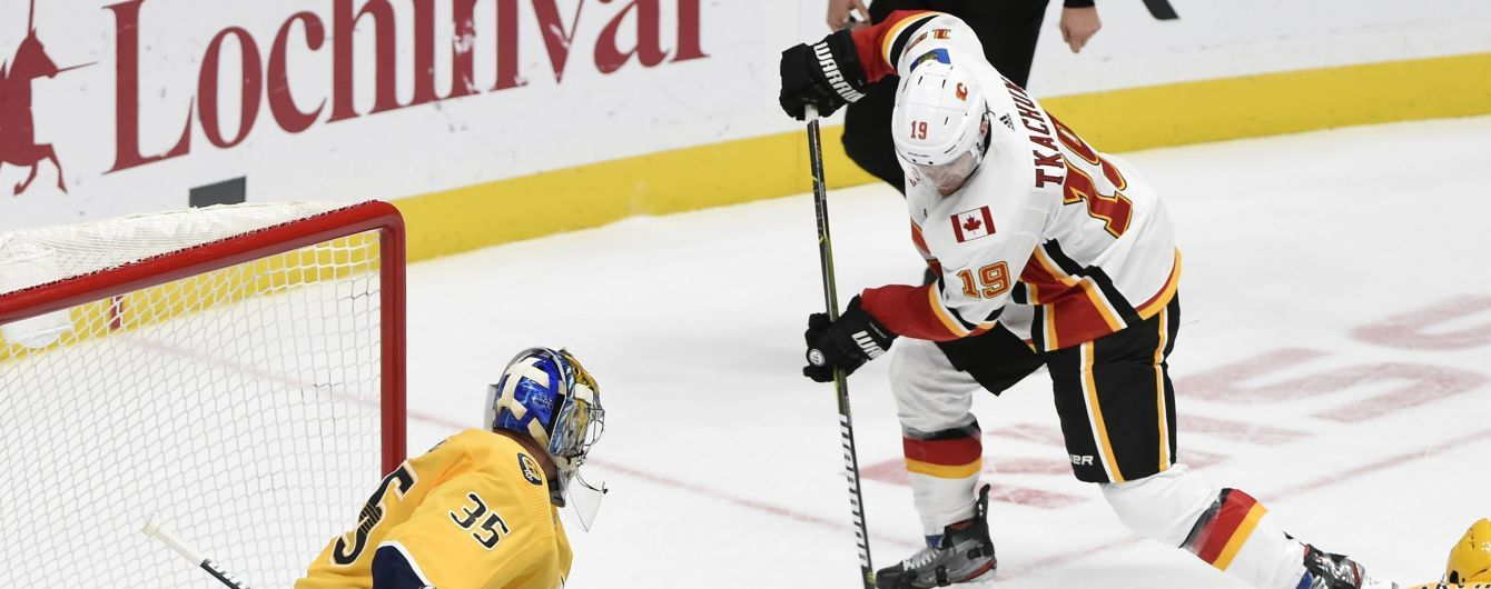 Хокеїст НХЛ з українським корінням закинув космічну шайбу за секунду до кінця матчу