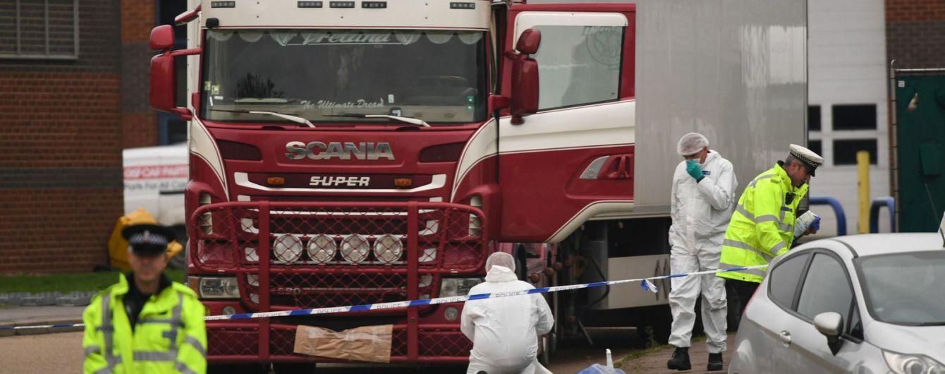 Смерть 39 мігрантів у вантажівці. У Ірландії та В'єтнамі затримали ще трьох підозрюваних у вбивстві