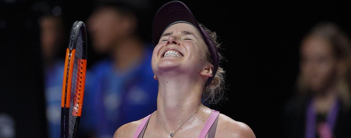 Світоліна встановила неймовірне досягнення на Підсумковому турнірі з 2013 року