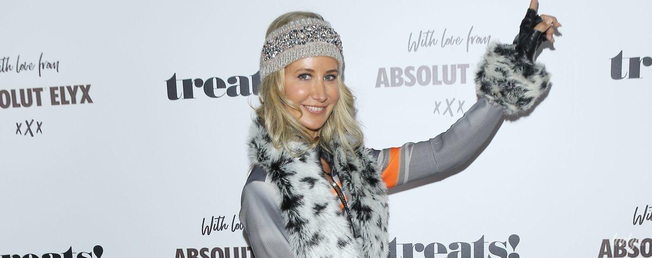 У лижному костюмі з хутром: леді Вікторія Герві у спортивному луці прийшла на Геловін-паті