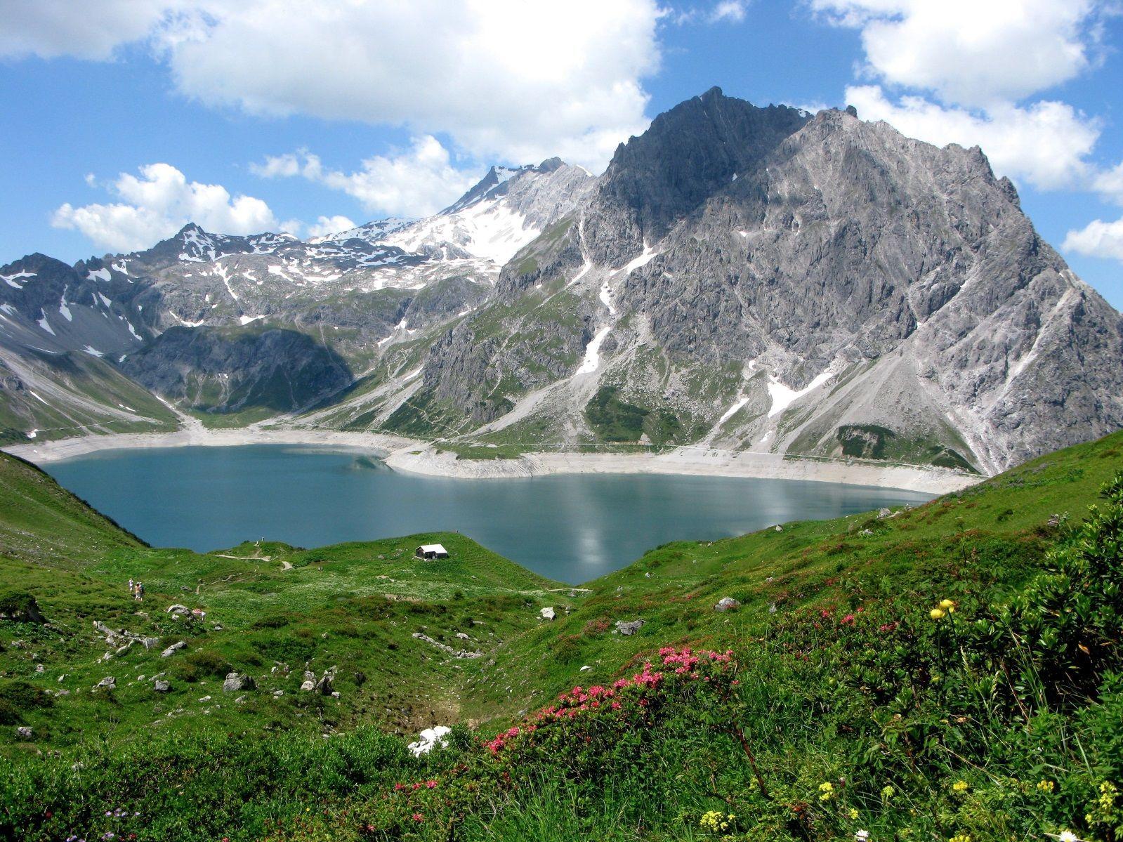 Люнерзее, озеро Австрия