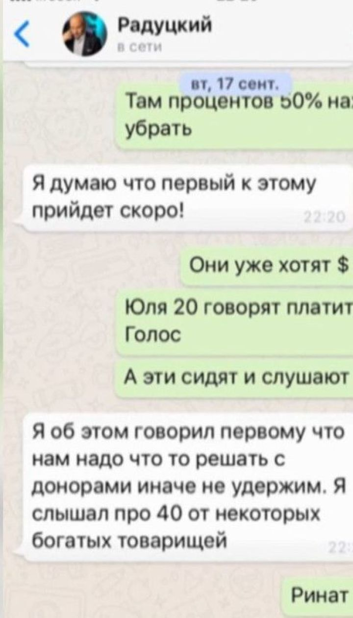 """Приняли за Рябошапку: депутаты от """"Слуги народа"""" переписывались с самозванцем"""
