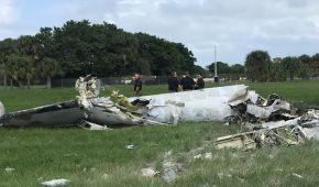 В США во время авиашоу упал самолет: пилот погиб