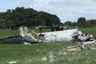 У США під час авіашоу впав літак: пілот загинув