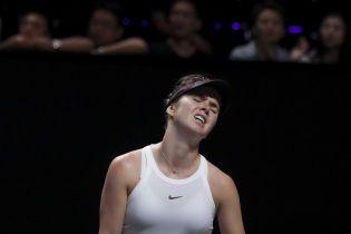Свитолина уступила первой ракетке мира в финале Итогового турнира