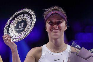 Свитолина за выступление на Итоговом турнире заработал рекордные призовые в карьере