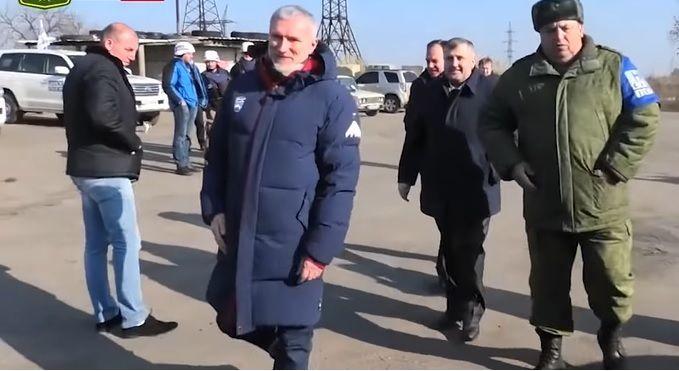 Російський депутат Журавльов у Золотому