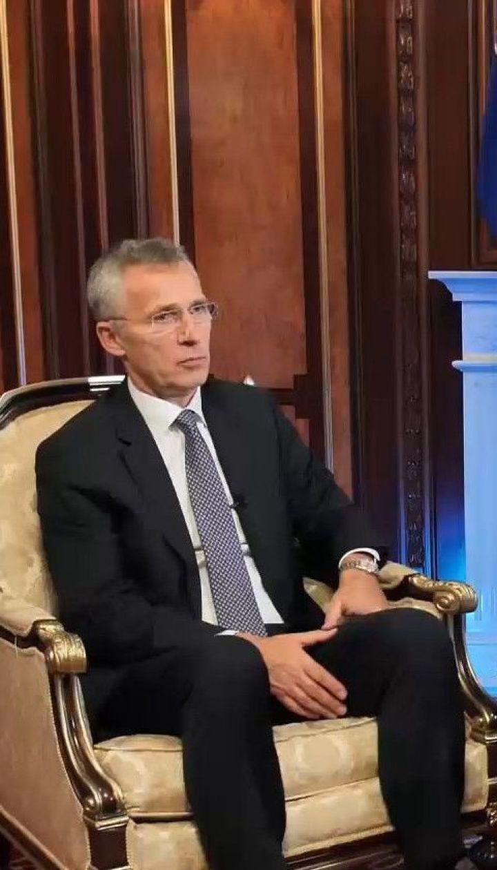"""""""Все союзники согласились, что Украина станет членом НАТО"""" - Столтенберг дал интервью ТСН.Тиждень"""