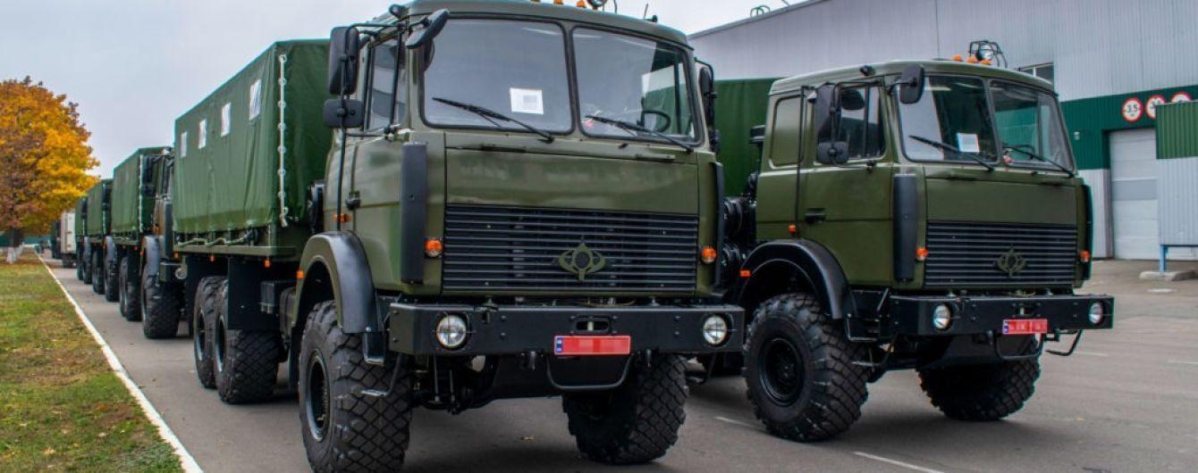 Армія України отримала партію нових військових вантажівок