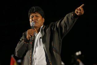 В Боливии выдали ордер на арест экс-президента Моралеса
