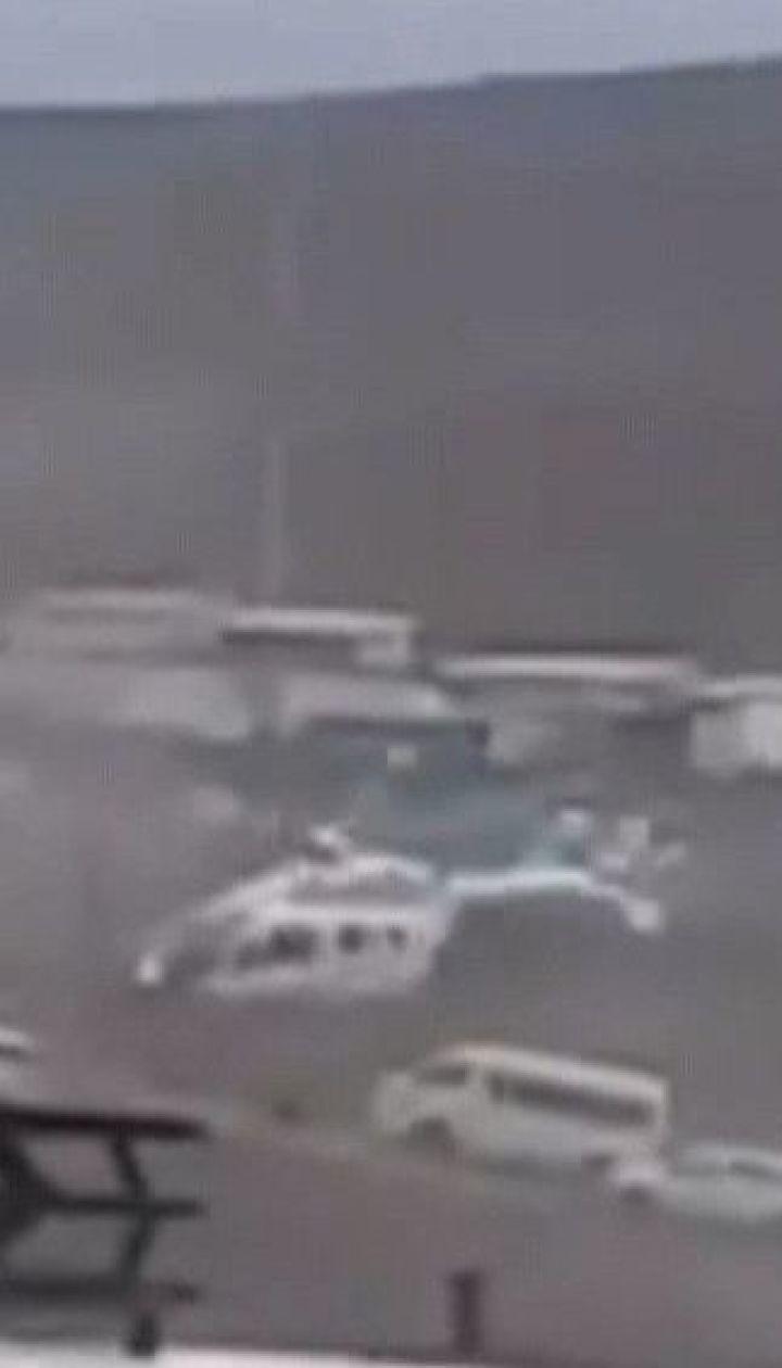 Вертолет с президентом Боливии совершил экстренную посадку из-за поврежденного хвостового винта