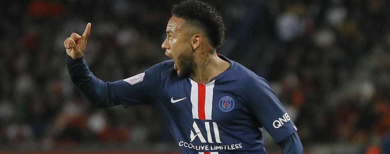 Неймар избежал наказания за постыдный поступок в финале Кубка Франции