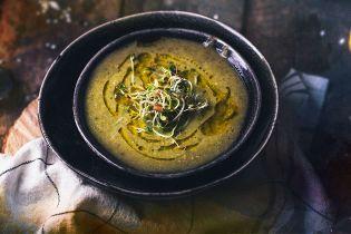 Суп с горошком и брокколи