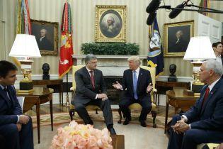 Разговоры о футболистах и приостановление дел против Манафорта: как Порошенко завоевывал расположение Трампа - NYT