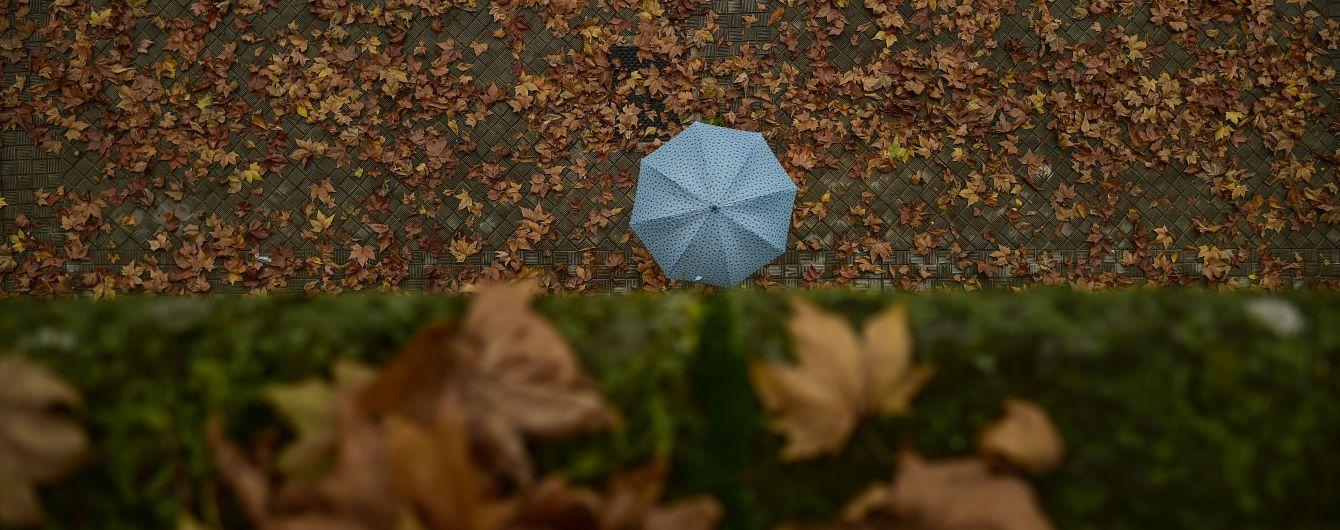 Прогноз погоди на суботу, 17 жовтня: Україну накриють дощі