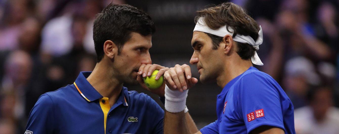 Федерер зіграє проти Джоковича. Результати жеребкування чоловічого Підсумкового турніру
