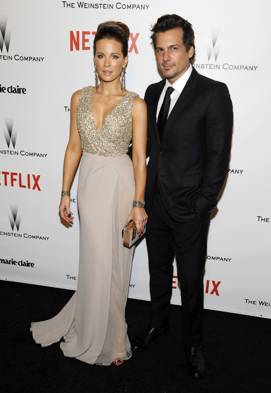 Кейт Бекінсейл з чоловіком