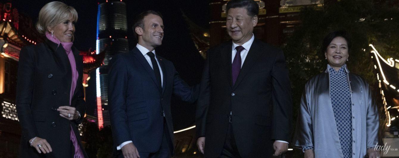Битва образов первых леди: Брижит Макрон vs Пэн Лиюань