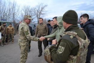 Оборонный комитет ВР провел выездное заседание на линии разграничения в ООС