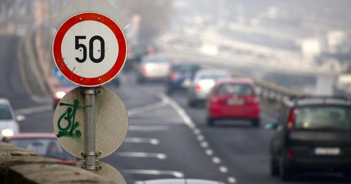 Водители массово игнорируют новый скоростной режим в Киеве