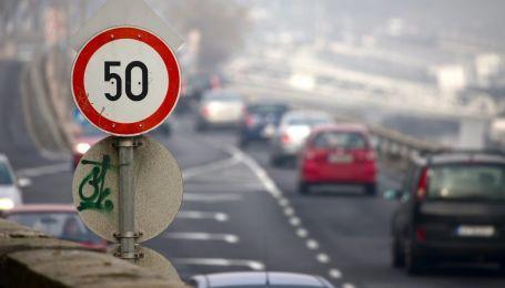 Для водіїв на київських вулицях починає діяти обмеження швидкості