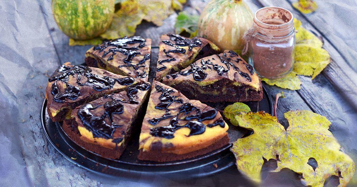 Шоколадно-гарбузовий пиріг