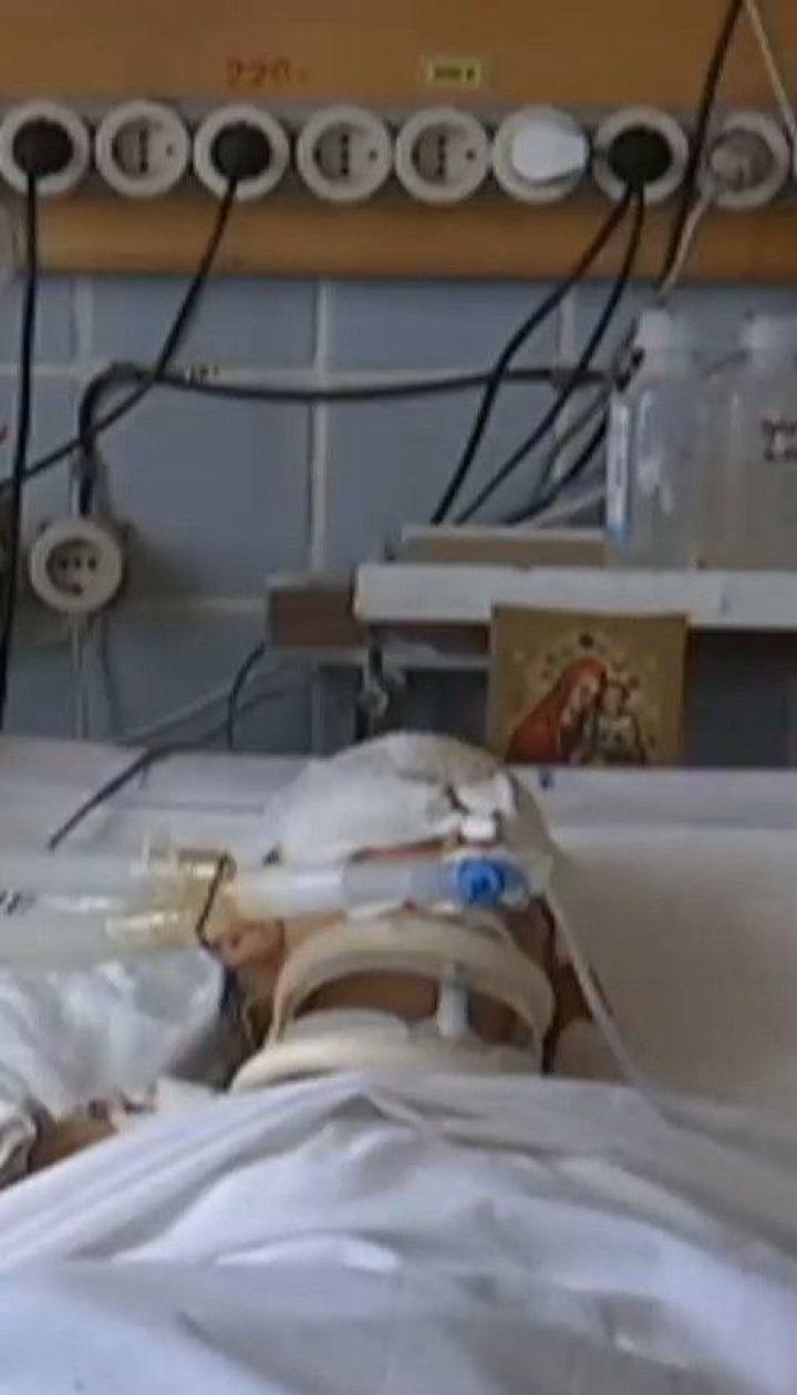 На Херсонщині лікарі рятують 8-річну дівчинку, яку травмувала корова