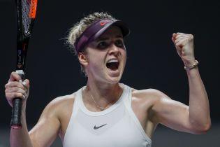 Суперудары Свитолиной попали в восьмерку лучших на Итоговом турнире