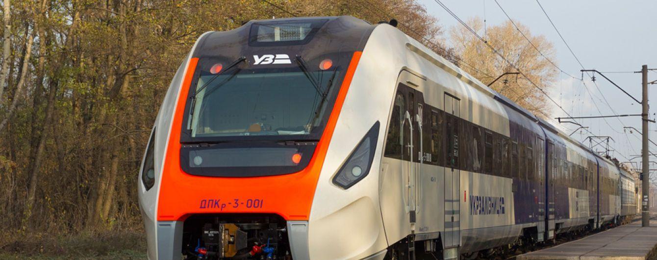 Новий український дизель-потяг уперше вийшов на випробування