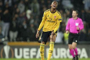 """""""Арсенал"""" пропустил невероятный гол на последних минутах и упустил победу в Лиге Европы"""