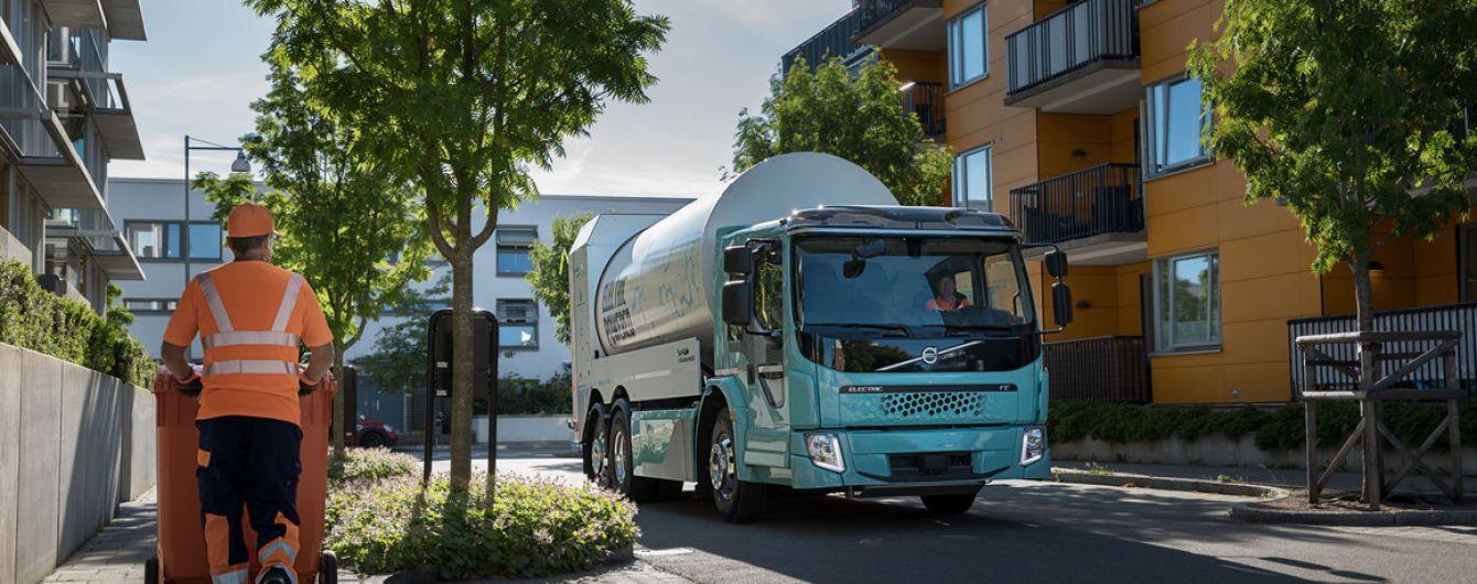 Volvo запускає продажі електричних вантажівок і сміттєвозів