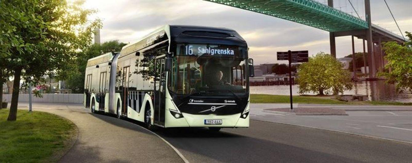 Volvo отримала найбільше в Європі замовлення на електробуси