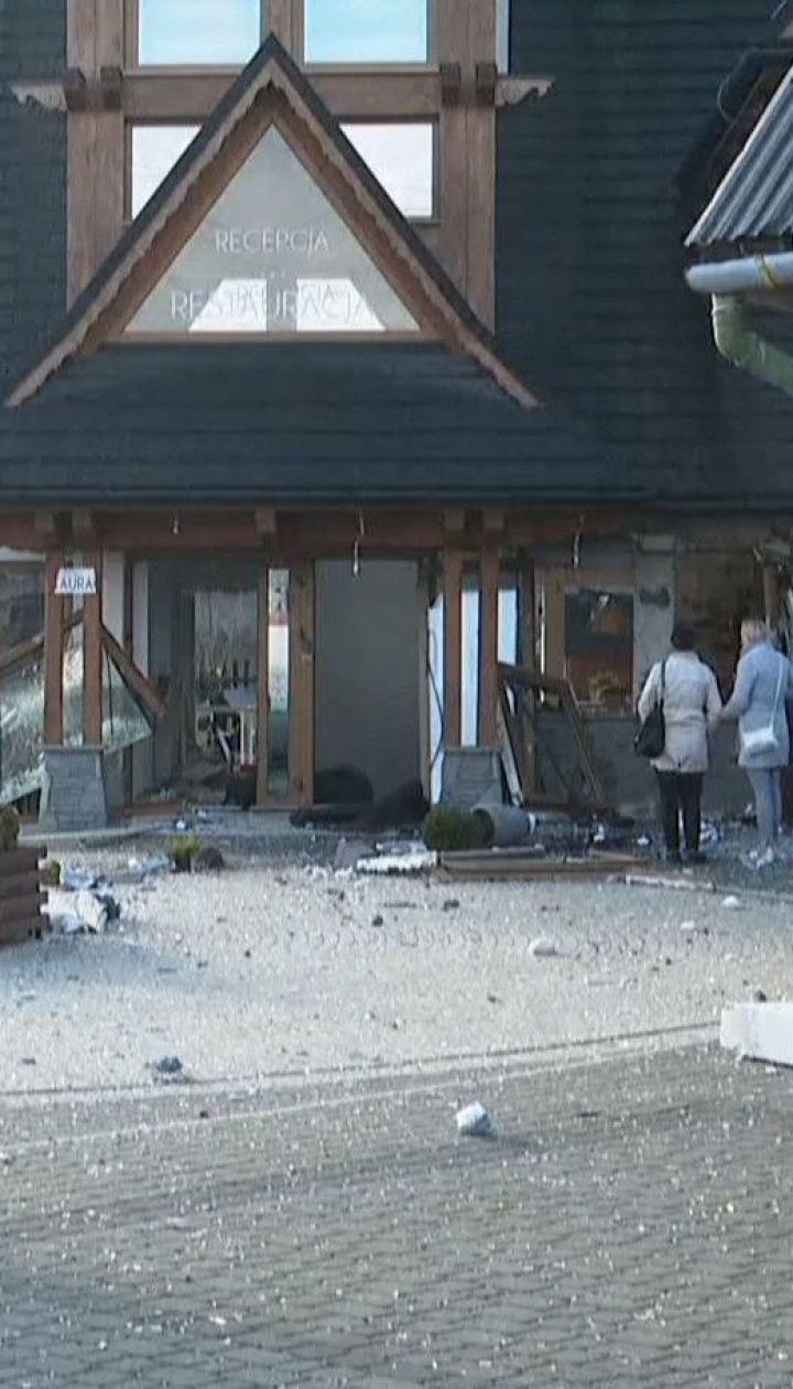 Три человека пострадали вследствие взрыва на горнолыжном курорте в Польше