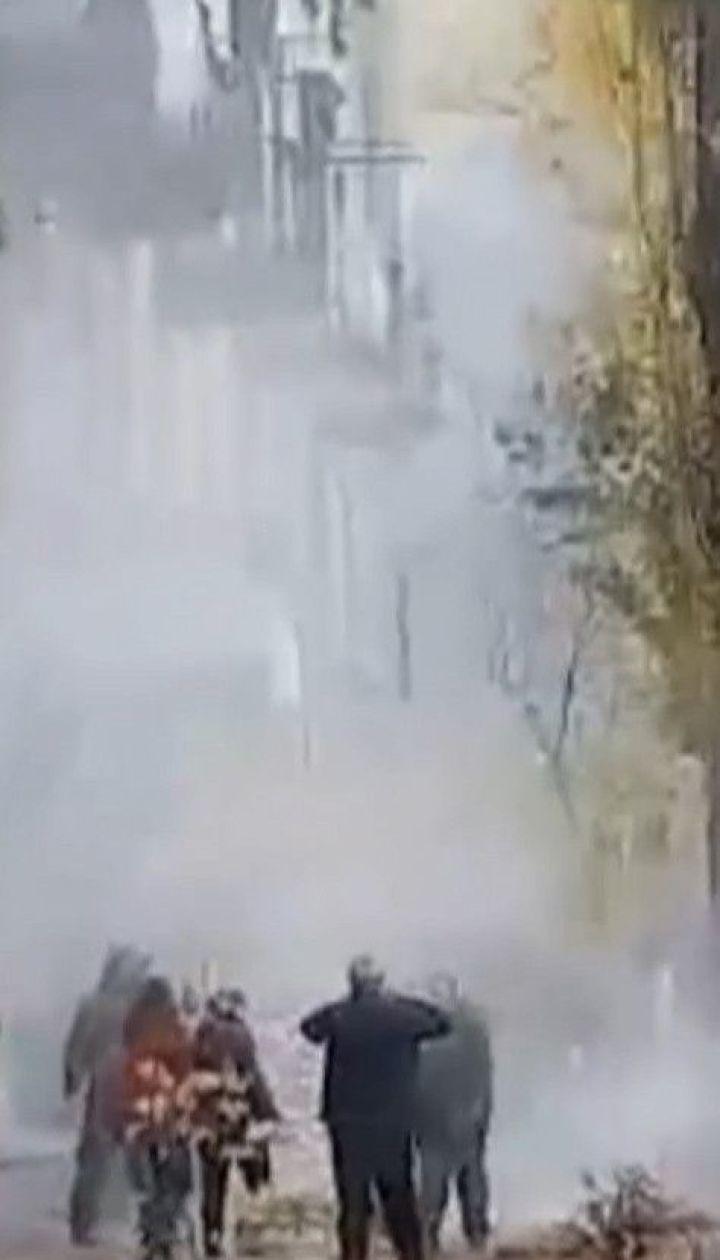 11 человек задержали после драки в результате выселения из аварийного общежития в Киеве