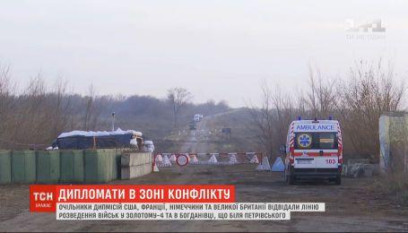 Один український боєць загинув, четверо зазнали поранень на Донбасі