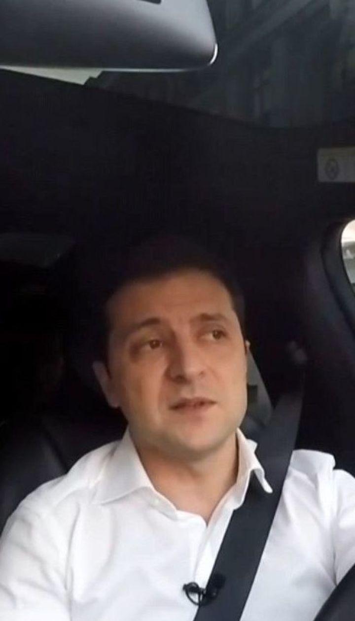 В Офісі президента оприлюднили нове інтерв'ю Володимира Зеленського на Tesla
