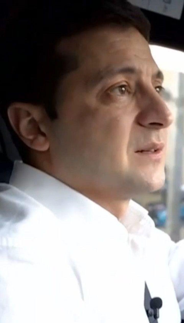 """Президент Зеленский в интервью рассказал о дальнейшей судьбе """"серой зоны"""" на Донбассе"""