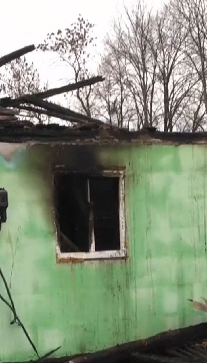 На Житомирщине в огне погиб трехлетний мальчик