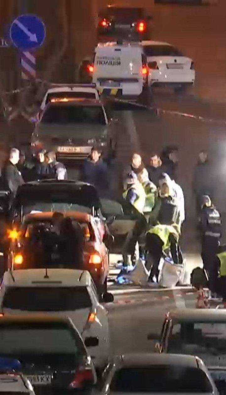 Полиция разыскивает мотоциклиста, который взорвал автомобиль на окраине столицы
