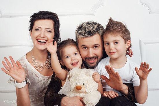 Дружина Сергія Бабкіна поділилася архівними фото сім'ї