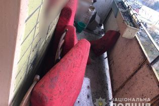 В Харькове мужчина взорвал себя гранатой на балконе